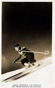 Hans Thorner, back in the day. Photo: Magic Mountain archives