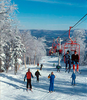 Old Red, back in the day. Photo: Magic Mountain archives