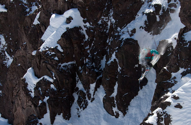 Rory Bushfield - Swatch Skier's Cup, Day 1/Big Mountain, at Valle Nevado, Chile. Photo: SWATCH/Maxim Balakhovskiy