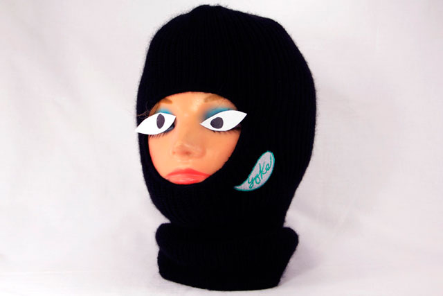 Look out Ski Industry - new caps and balaclavas for sale... Photo: YokeCollection.com