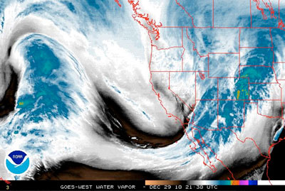 Weather websites are also just cool to look at (Dec. 2010). Image: NOAA