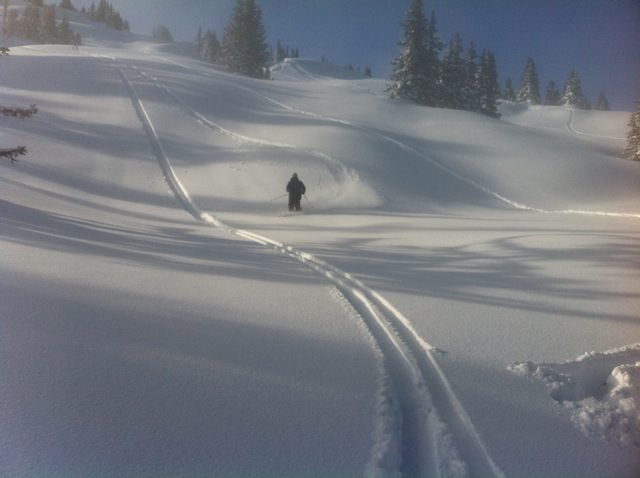 These fresh tracks were followed by fresh snacks of Swiss meats and cheeses. And beer. Hurray beer!