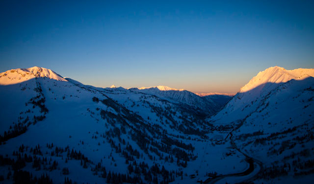 The cherished Wasatch mountains. PHOTO: COURTESY OF BLACK DIAMOND