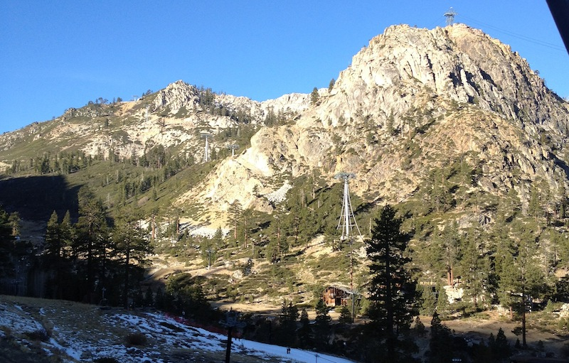A dismal Squaw Valley on January 10, 2012. PHOTO: RYAN DUNFEE