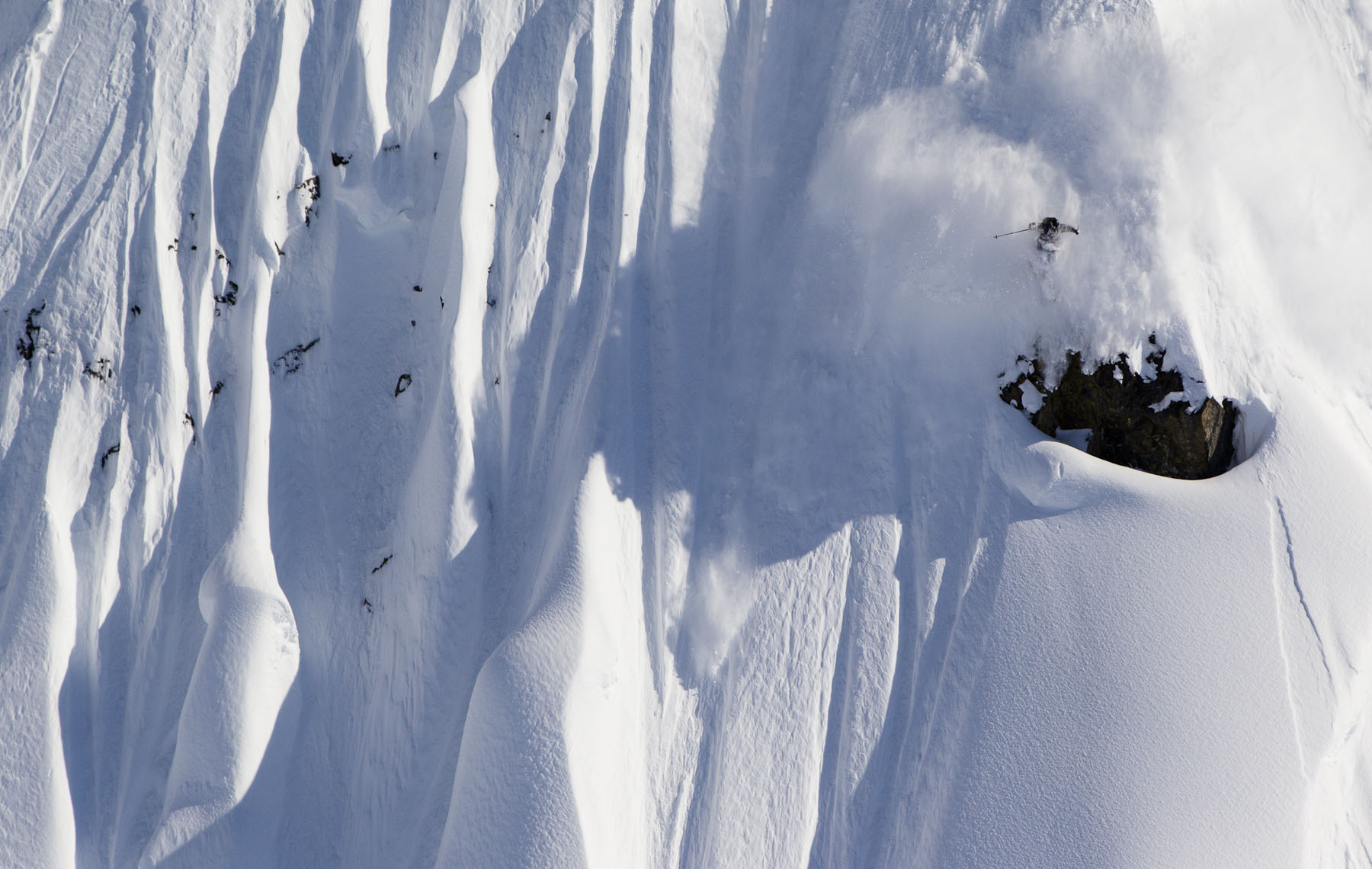 Dashiell doing it in AK in 2012. PHOTO: Mark Fisher/TGR