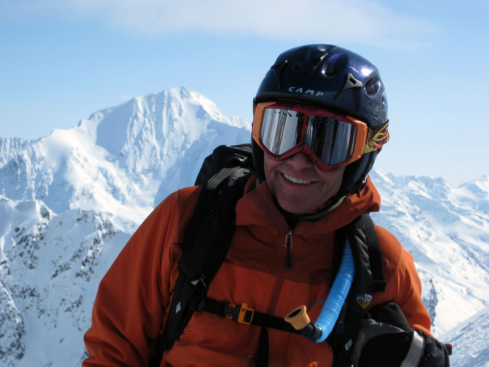 Friends remember Abromeit as someone who was an avid skier, climber, and biker, while making others smile with his own. PHOTO: Courtesy of Karl Birkeland