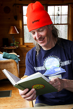 Ron Konowitz, founding member of the Ski to Die Club, and the only skier to have skied all of the Adirondack 46ers. PHOTO: Brian Mohr
