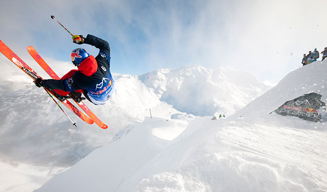 Markus at Red Bull Linecatcher: PHOTO: Courtesy Red Bull