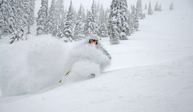 Slash this. Not that. PHOTO: Courtesy Schweitzer Mountain Resort