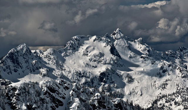 The Alpental backcountry, near Snoqualmie Pass, has plenty of options. PHOTO: WILL BAKER