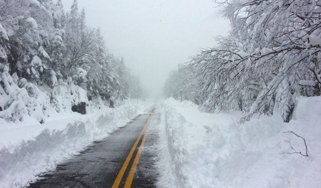 Break out your flip flops! May 26, 2013. The road to Whiteface. PHOTO: Courtesy Whiteface
