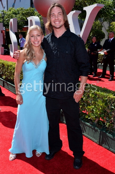 Rory and Winter on the ESPY Awards red carpet. PHOTO: Getty