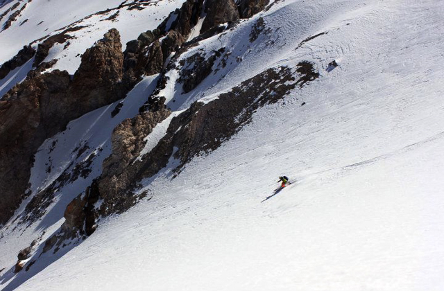 Into the great white open. PHOTO: Sally Francklyn