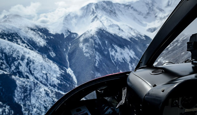 There's an invite-only club in Whistler that's organizing one-way heli drops for as cheap as $85. PHOTO: Andrew Strain