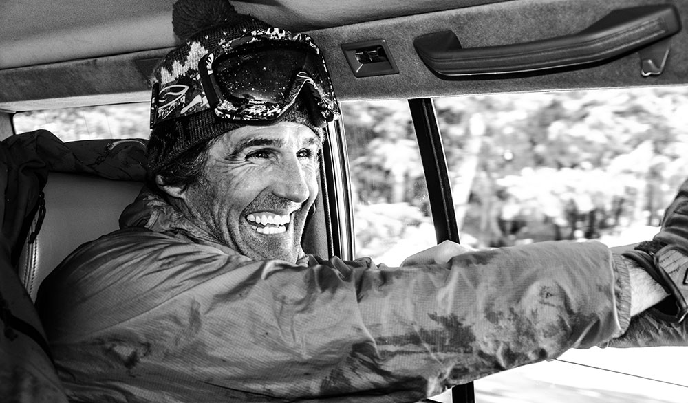 For a good time at Crystal Mountain, look for this grin. PHOTO: Matt Small