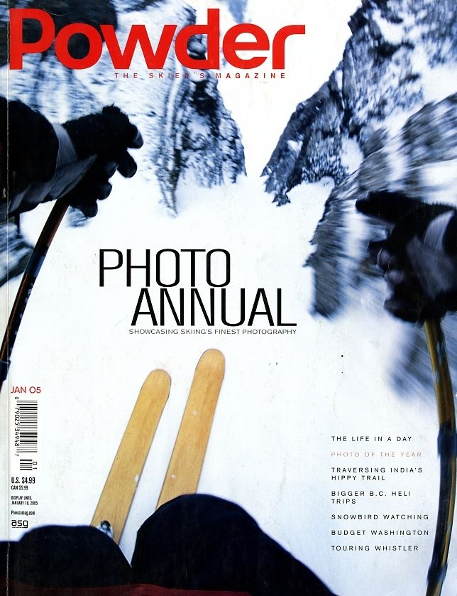 January 2005's Photo Annual Cover. PHOTO: POWDER 33.5