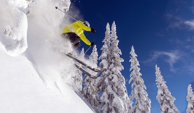 Silver Star: 13 Resorts, 20,869 Acres, And 4,194 Inches Of Fresh Powder Annually. PHOTO: Silver Star.