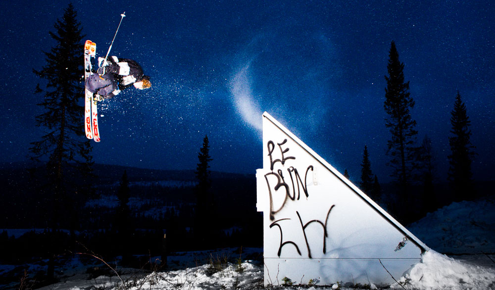 Magnus Graner picked up skis one day and never looked back. PHOTO: David Malacrida
