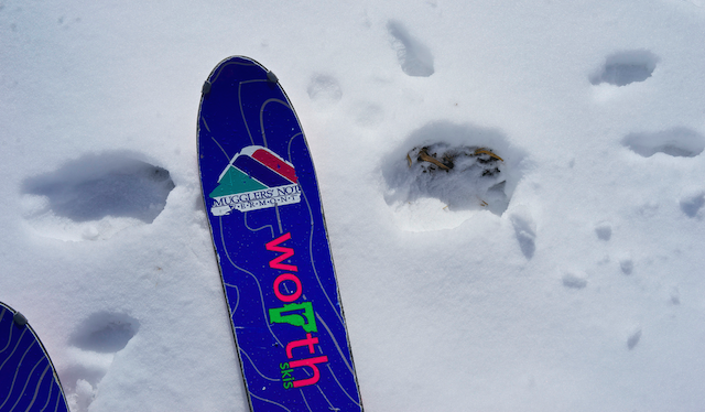 Skis built by East Coasters, for East Coasters. PHOTO: Dalton Harben