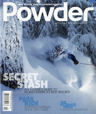 From Powder's 2009 resort and heli/snowcat guide.