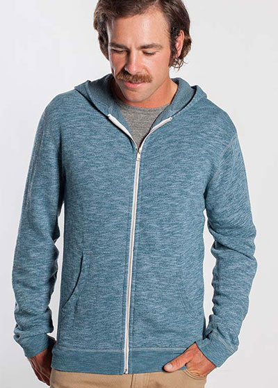 Marine Layer Streaky Terry Sweatshirt.