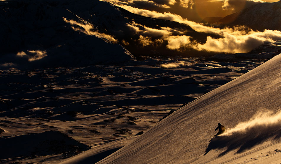 Words to know before skiing Chile: weon and cafe con piernas. PHOTO: Christian Pondella