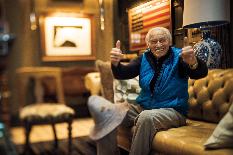 The secret to skiing for 90 years is to stay in as good of shape as Klaus Obermeyer. PHOTO: Scott Markewitz