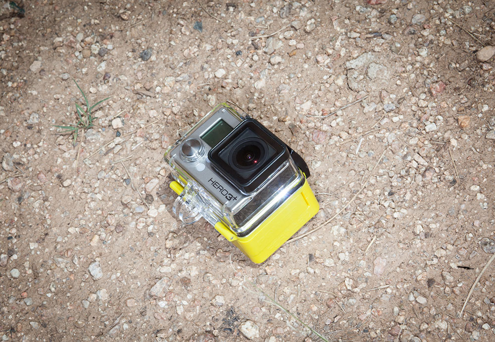 The battery that never dies, for GoPro. PHOTO: Jakob Schiller