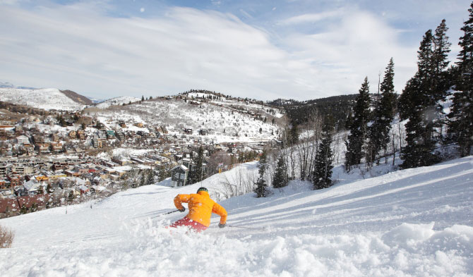 Park City lives for another season. PHOTO: Dan Campbell/Park City Mountain Resort