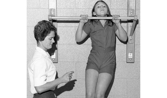 Wannabe a liftie? That'll be 50 chin-ups first.