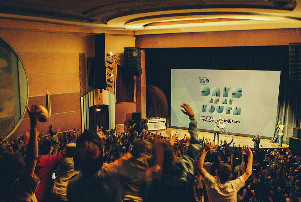 Snow plus ski movies, Boulder was stoked on Friday. PHOTO: Christopher D Thompson/Red Bull Content Pool