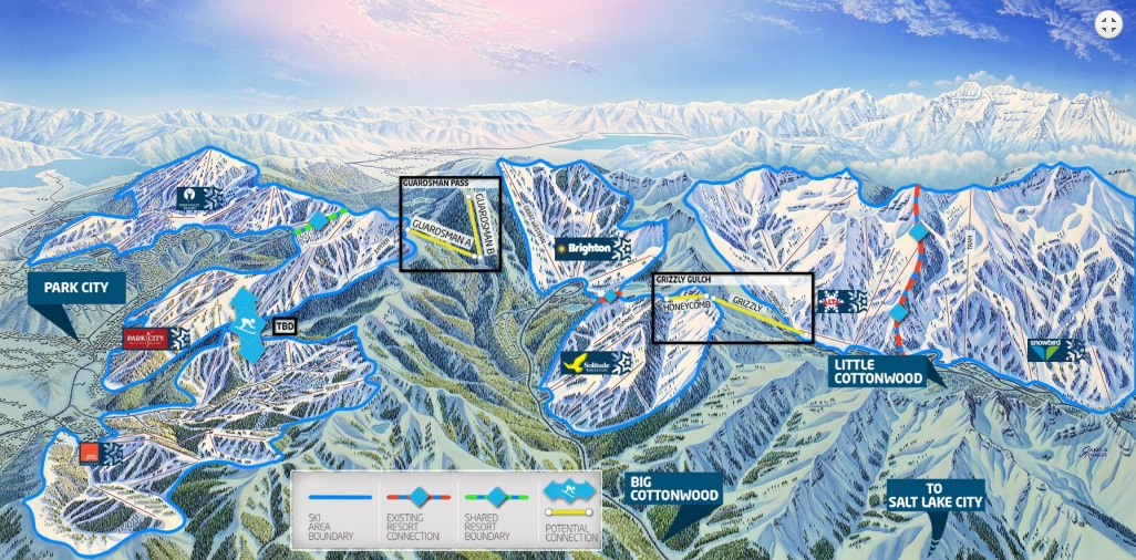 One Wasatch unveils new map with chairlift placement.