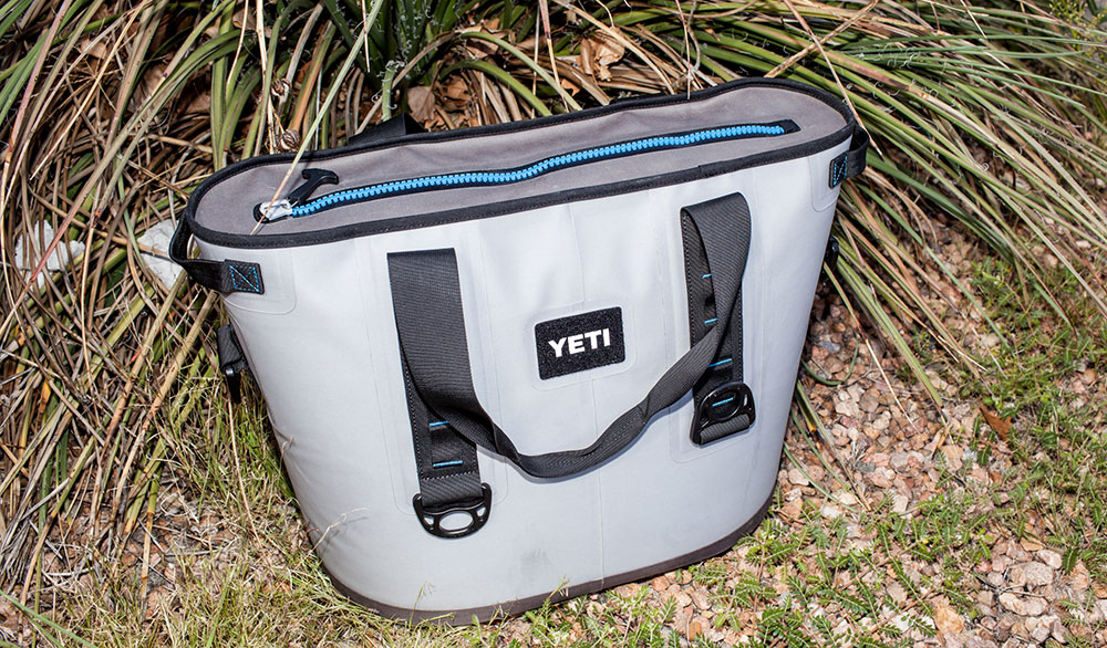 Days. That's the unit of measurement YETI uses to tell the duration this cooler keeps ice. PHOTO:  Jakob Schiller
