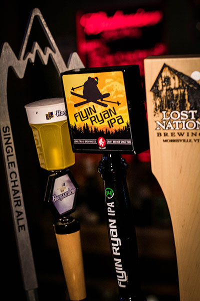 Look for the Flyin Ryan IPA, on tap at ski resorts this winter. PHOTO: Micah Berman