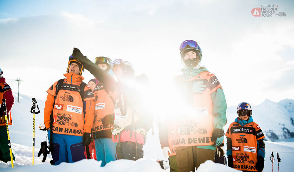 A new crop of skiers are joining the seasoned veterans on the Freeride World Tour next year. PHOTO: Freeride World Tour