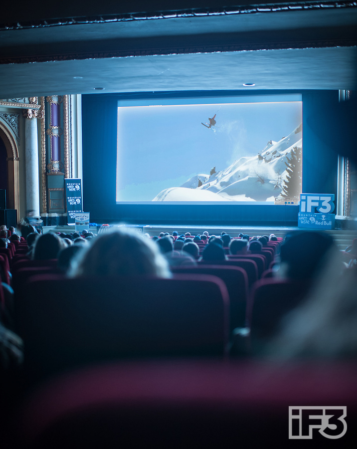 Silver screen FOMO. PHOTO: Renaud Robert/International Freeski Film Festival