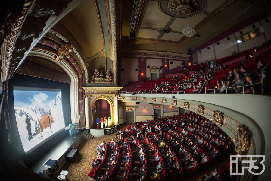 International Freeski Film Festival (iF3) 2014 in Montreal, Qc