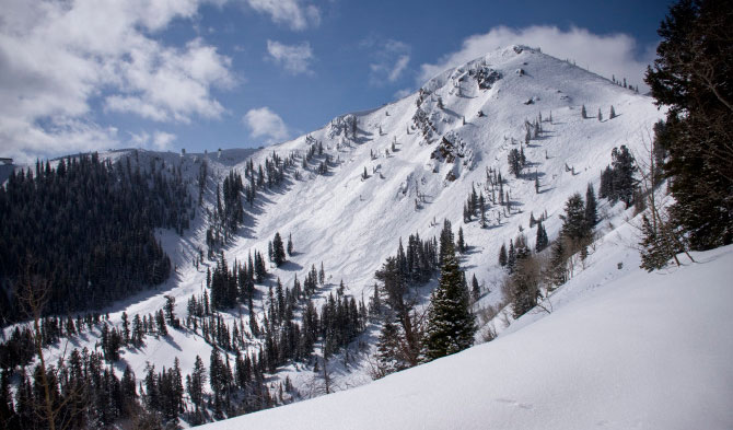 Park City's Jupiter Peak. Vail Resorts announced today that is has acquired Park City. PHOTO: Park City Mountain Resort