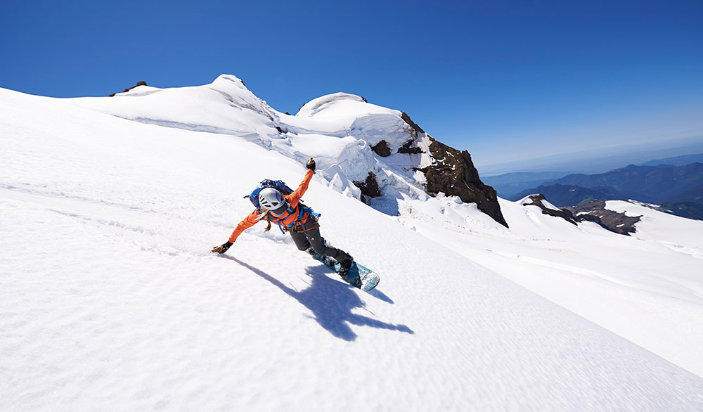 Liz Daley, 29, a snowboarder from Tacoma, Washington, died in an avalanche on Monday, September 29, in the Fitz Roy Massif region outside El Chalten, Argentina. PHOTO: Scott Rinckenberger
