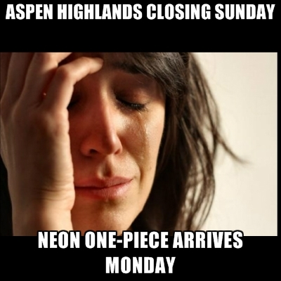 aspen-highlands-closing-sunday-neon-one-piece-arrives-monday