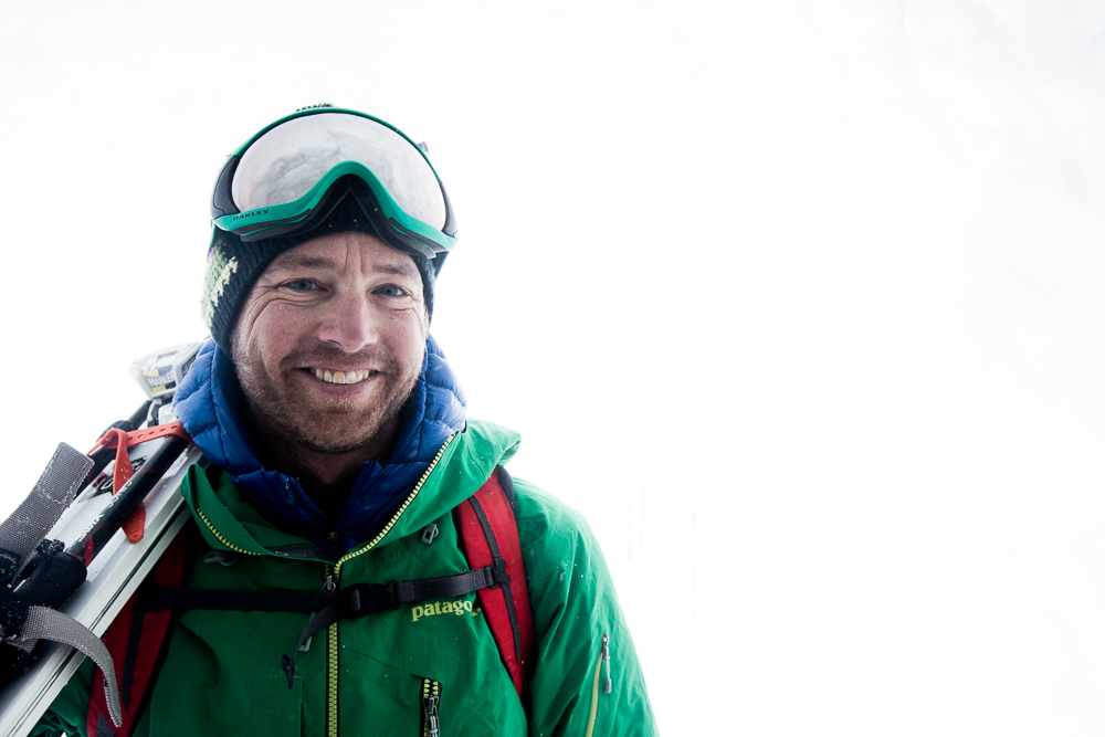 """American"" Dave Rosenbarger died in an avalanche in Italy on January 23, 2015. PHOTO: Adam Clark"