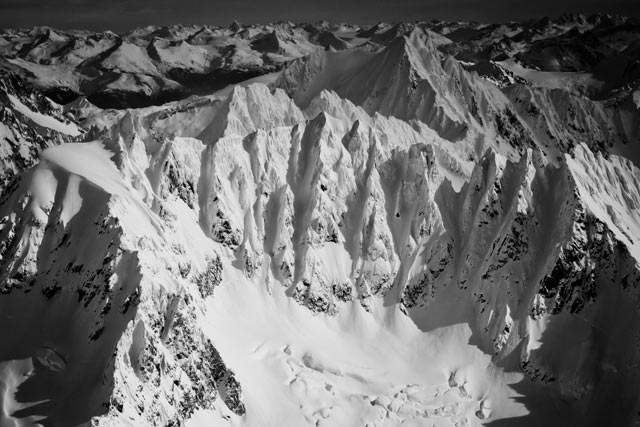 Terrain is bigger in Alaska.