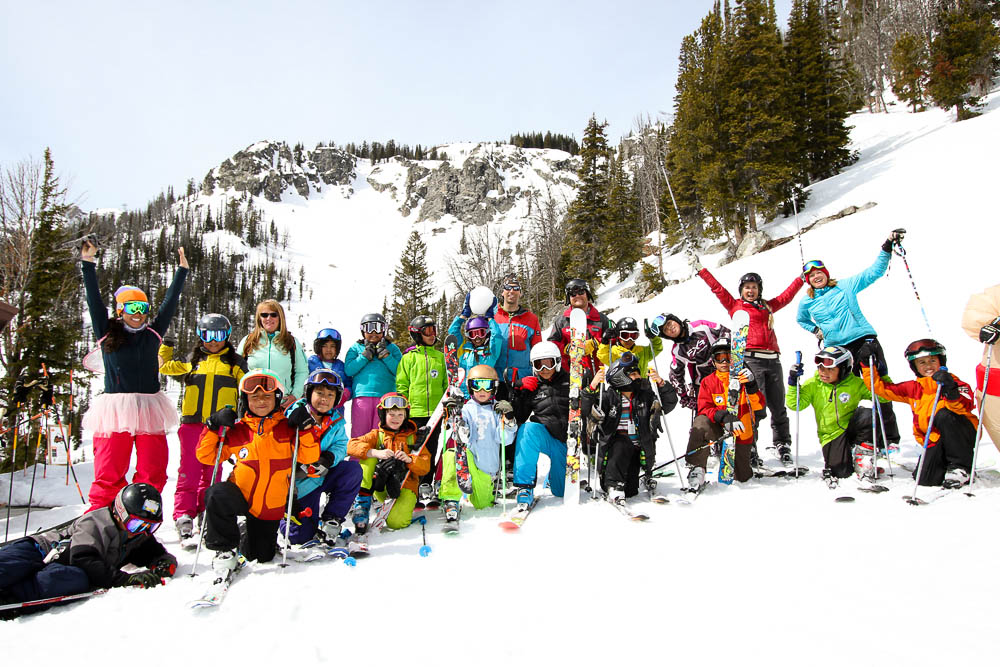 The Doug Coombs Foundation brings skiing to children from low-income families. PHOTO: Emily Coombs