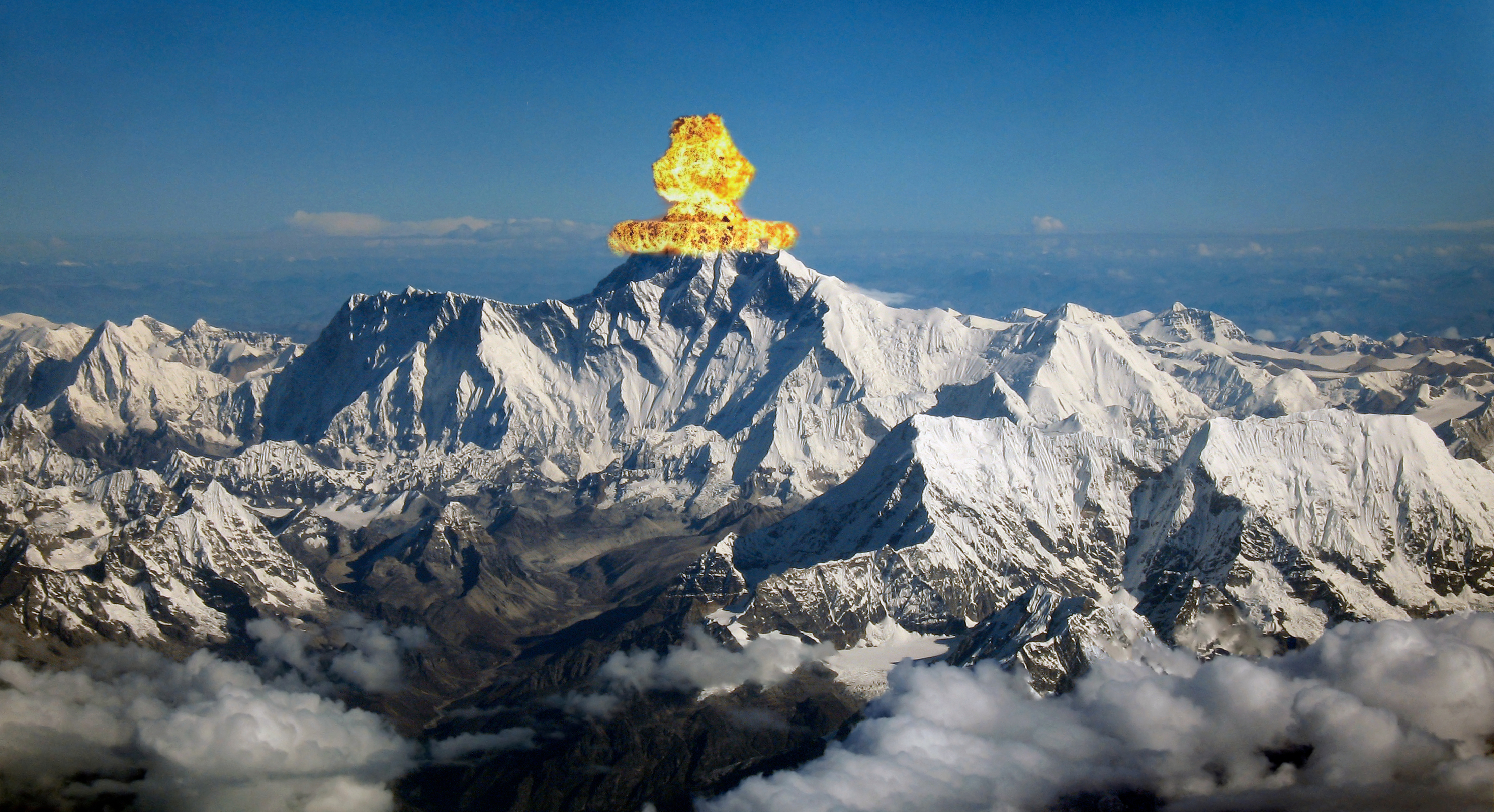 How to fix Everest? Start with explosives.