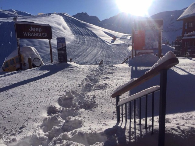 Valle Nevado received 31 inches of snow this weekend. PHOTO: Courtesy of Valle Nevado