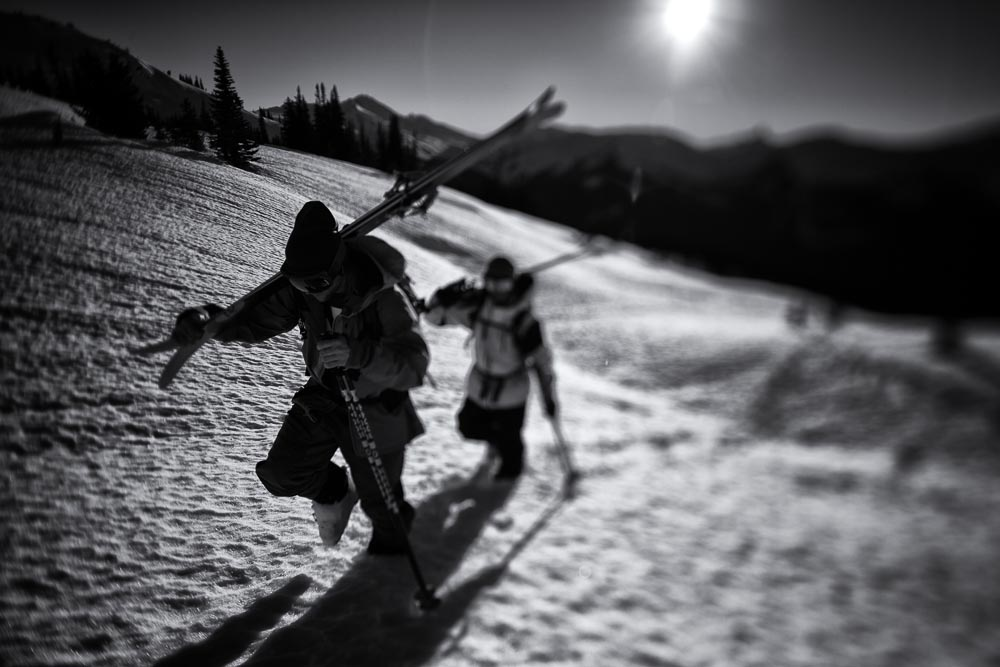 Pro Skier Profile Writing 201: Time to up your Instagram game. Photo: Adam Barker
