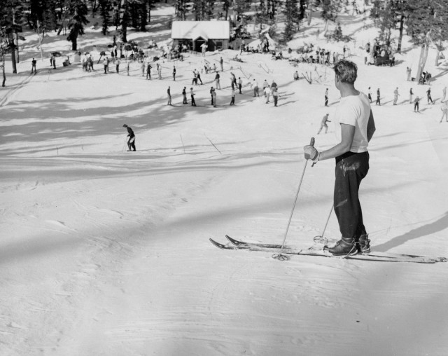 McCoy was never about the money. He charged skiers 50 cents to ride his rope tow. PHOTO: TK
