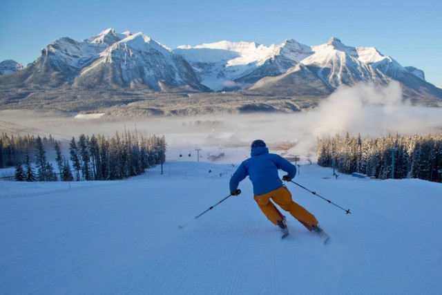 Located in Banff National Park, Lake Louise is the third largest ski area in Canada. PHOTO: Lake Louise