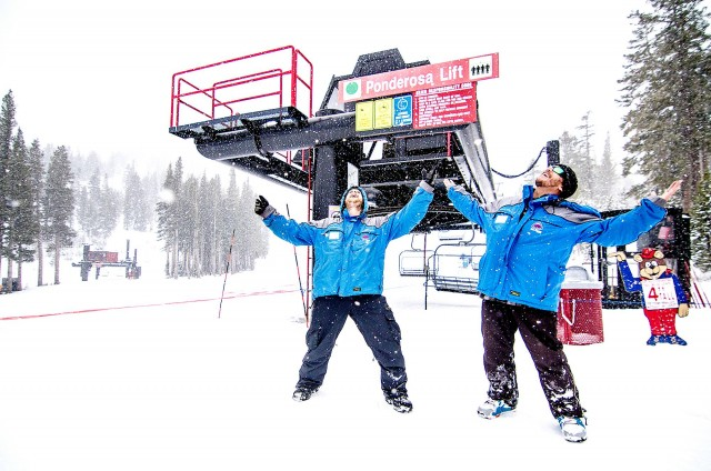 Employees in nearly all departments at the resort are getting a raise. PHOTO: Courtesy of Mount Rose Ski Tahoe/Facebook