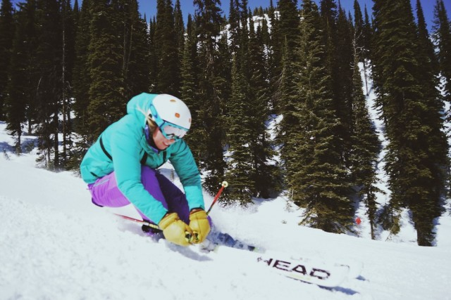 Anna Jobe, founder of Powdered Soul, grew up racing at Big Mountain in Whitefish, Montana.  Photo: Courtesy of Powdered Soul.